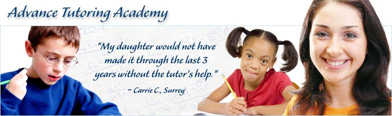 Advance Tutoring Academy in Surrey BC